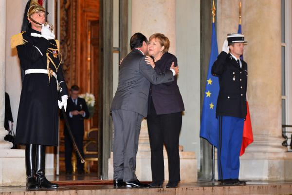 Germany's Merkel Vows More Support For France