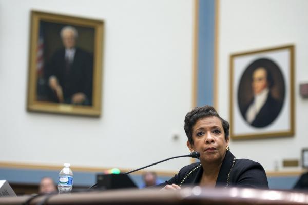 Lynch Talks Terrorism, Police Violence, Syrian Refugee Plan