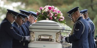 Maureen O'Hara Laid To Rest In Arlington National Cemetery
