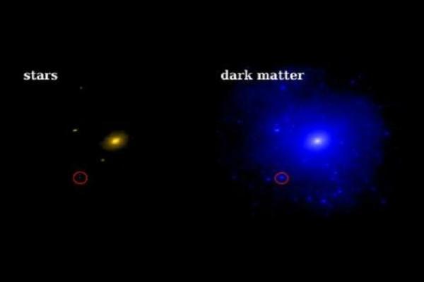 Dwarf Galaxy Dominated By Dark Matter