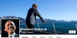 The President Of The United States Launches Own Facebook Page