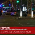 Paris Shootings, Explosions