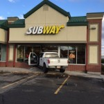 Man Crashes Into West Valley Subway Shop