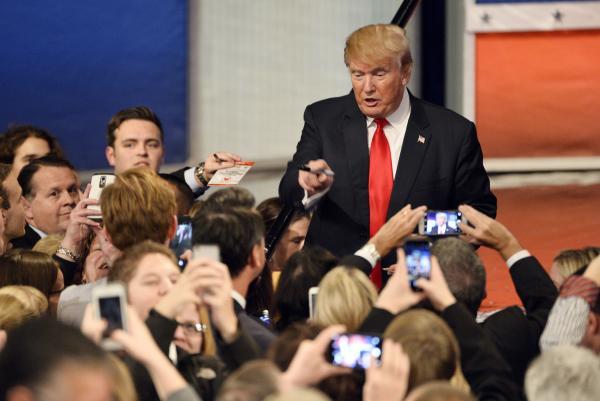 Trump Unleashes Rant In Iowa