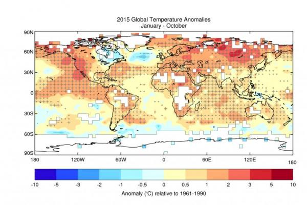 2015 Will Be Warmest Year