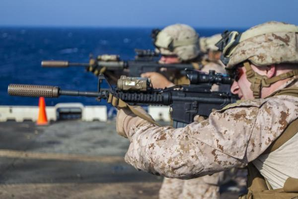 U.S. Marines React To Switch From M16 To M4 | Gephardt Daily