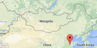 Chinese Gypsum Mine Collapses