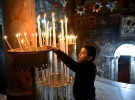 Christmas Celebration In Bethlehem