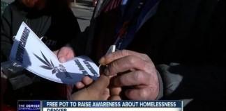 Denver Charity Gives Free Marijuana To The Homeless