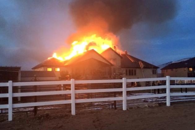 Eastin Family Fire