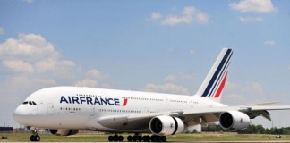 Air France Emergency Landing