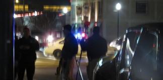 SLC Police Vehicle Broadsided