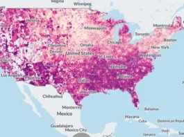 Map Shows Student Loan Borrowers