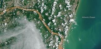 Contaminated Water Flowing Into Atlantic