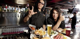 Gene Simmons and Paul Stanley Open New Restaurant