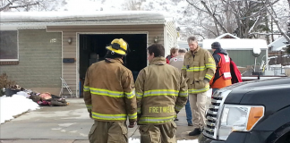 Christmas Morning Fire Forces Ogden Family
