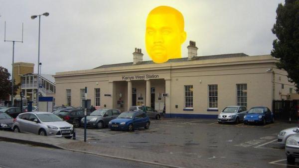 Rename Railway Station After Kanye West
