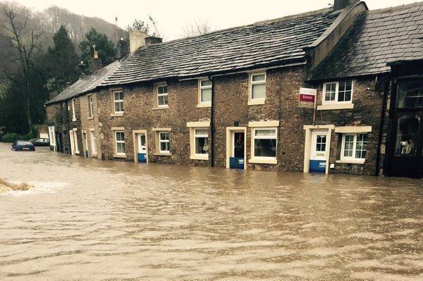 United Kingdom Pounded By Heavy Rains, Flooding
