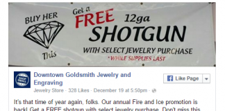 Free Gun With Jewelry Purchase