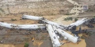Train Carrying 44,000 Gallons Of Sulphuric Acid