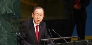 Ban Ki-Moon Condemns Saudi Executions