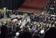 uneral Services For Fallen Officer Doug Barney
