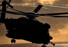 Marines In Helicopter Crash