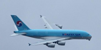 Korean Air Subsidiary Turns Plane Back