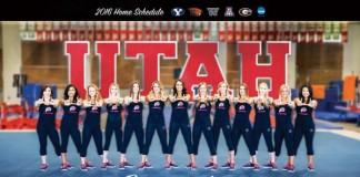 Lady Utes' Gymnasts