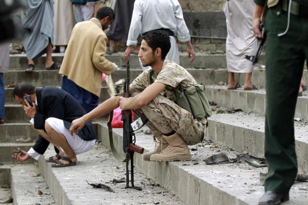 Shot Down Yemen Missile