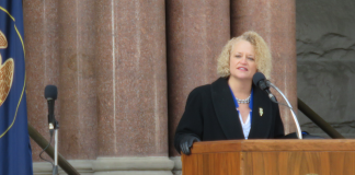 Biskupski Sworn In