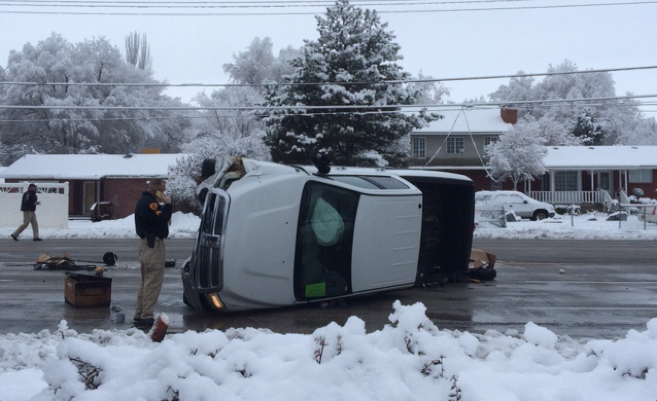 NEW: Driver Critically Injured In Redwood Road Crash ...