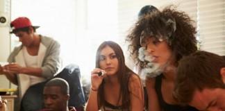 Teen Pot Smoking