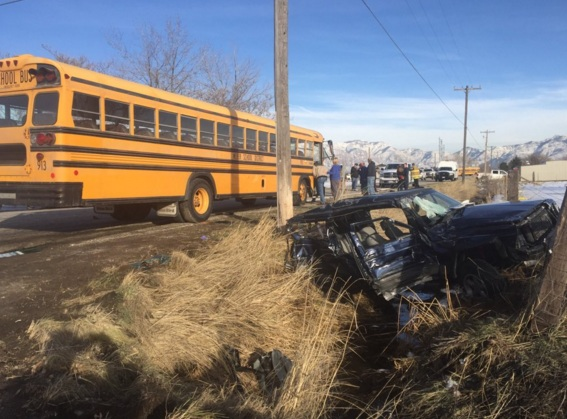 Weber County School Bus Accident