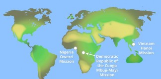 LDS Church Announces New Missions