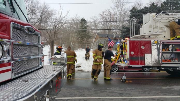 Structure Fire In Farmington