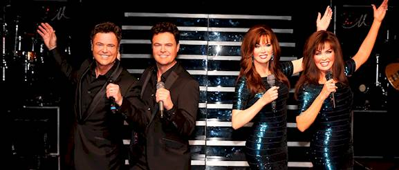 Donny And Marie Wax Figures