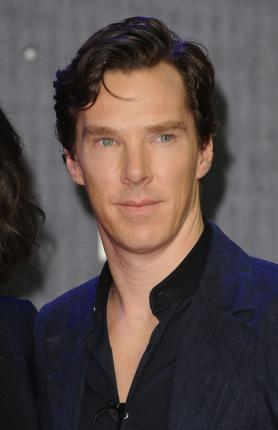 Benedict Cumberbatch at the London premiere of