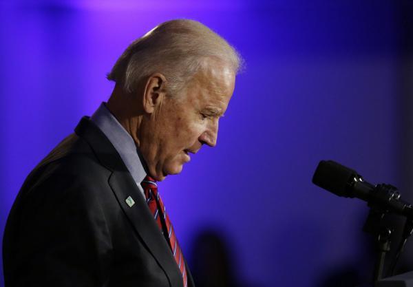 Biden Gathers Forces
