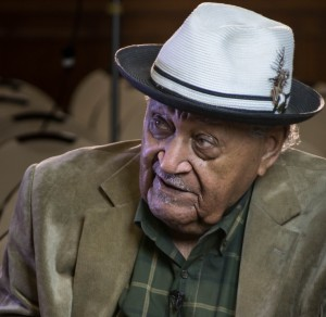 Ogden jazz saxophonist Joe McQueen, age 96, talks about his music career, life in Utah during the Jim Crowe era. Photo: Gephardt Daily