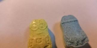 Minion-Shaped Ecstasy Pills