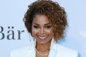 """Janet Jackson arrives at the amfAR Cinema Against AIDS gala in 2013. Jackson is on her """"Unbreakable"""" world tour and has been criticized by Elton John for lip-synching during her concerts. File Photo by David Silpa/UPI 