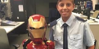 Make-A-Wish's Iron Boy