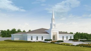 Rendering of the Kinshasa Democratic Republic of the Congo Temple. © 2015 by Intellectual Reserve, Inc.