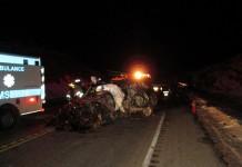 Vehicle Hits Semi Head-On In Moab