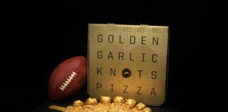 Pizza-Hut-creates-pie-topped-with-100-of-gold-for-Super-Bowl