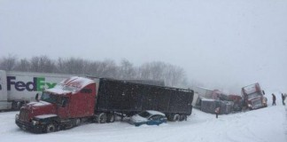 Pileup On Pennsylvania Highway