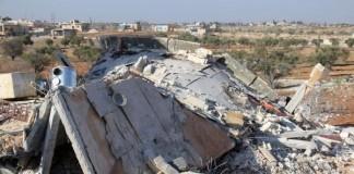 Destroyed MSF Hospital