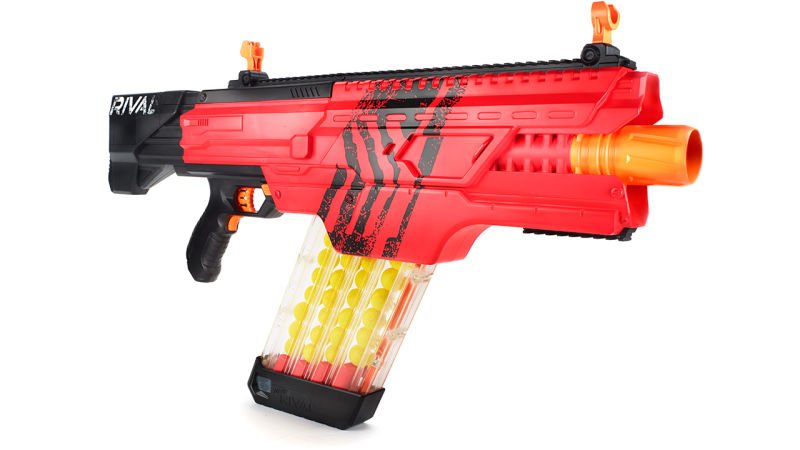 Don't Step in Front of the Nerf Rival Prometheus MXVII-20K Blaster