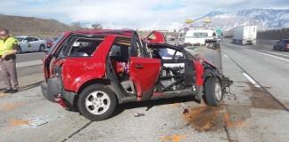 ogden barrier accident